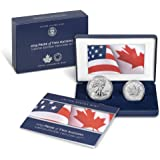 2019 Pride of Two Nations 2-Coin Set PCGS PF 69 FS Two Flags Label