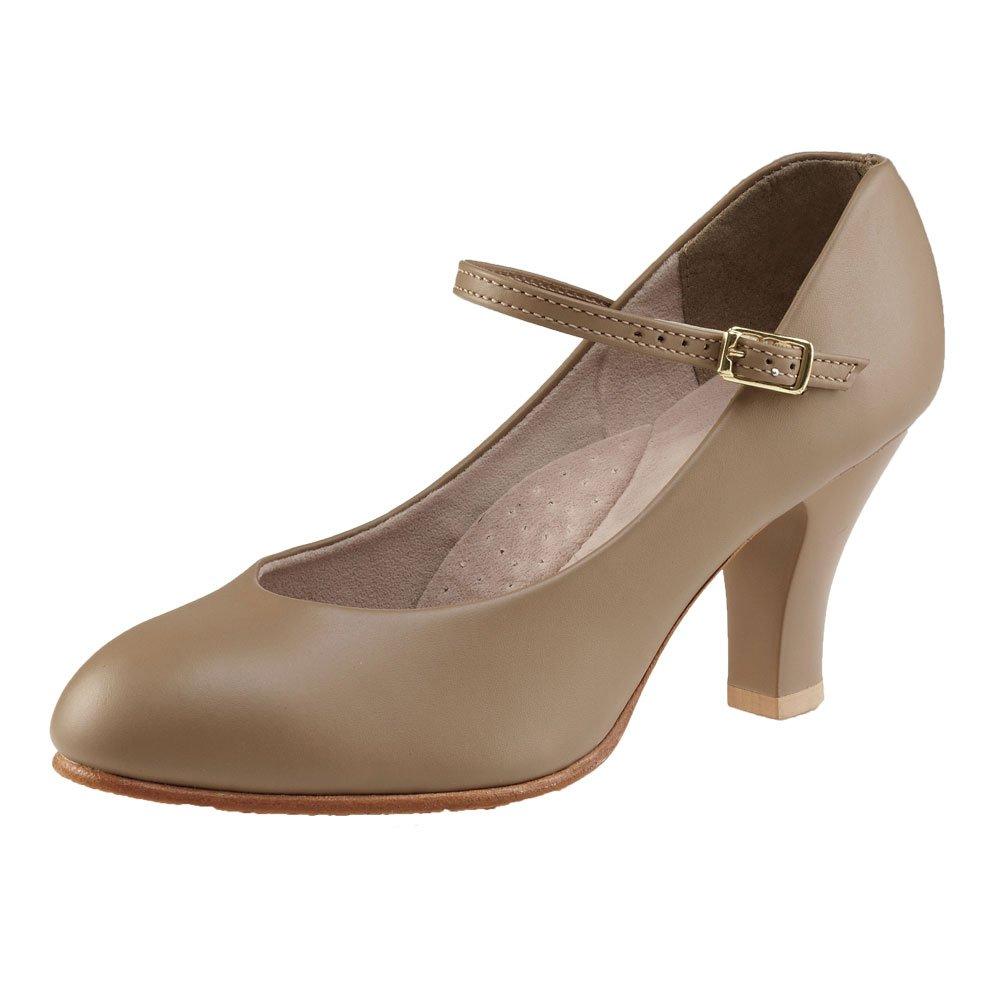 Capezio Chaussures de caractère 656 Theatrical Footlight