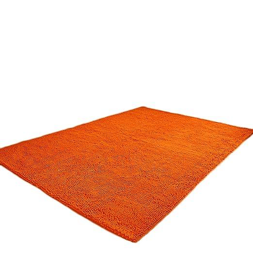 Yute 60 x 110 cm Serdim Rugs Alfombras Naranja
