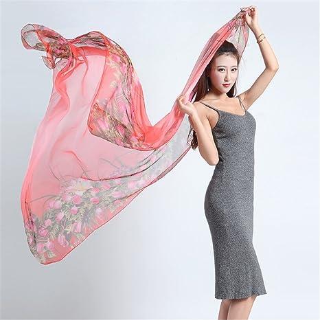 YRXDD Printed gasa hilado toalla femenina verano protector solar toalla de playa de aire acondicionado bufanda