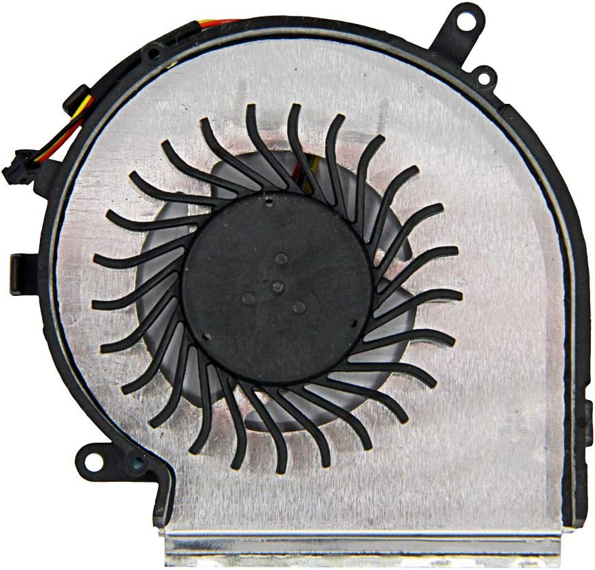 Laptop CPU Cooling Fan 3-Pin 3-Wire for MSI GE62 GE72 PE60 PE70 GL62 GL72 Series AAVID THERMALLOY PAAD06015SL 0.55A 5VDC
