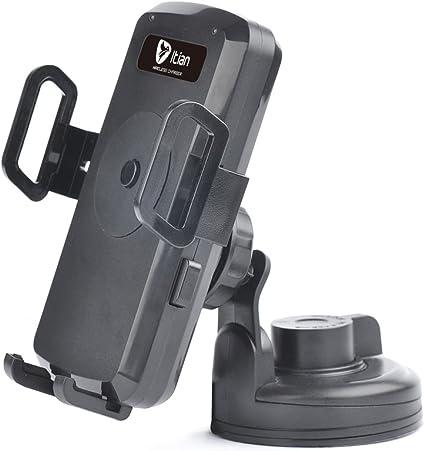 Soporte de coche - KKmoon Qi de carga inalámbrica transmisor para ...