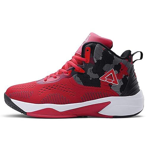 Zapatillas de Baloncesto para Hombre Resistencia al Desgaste ...