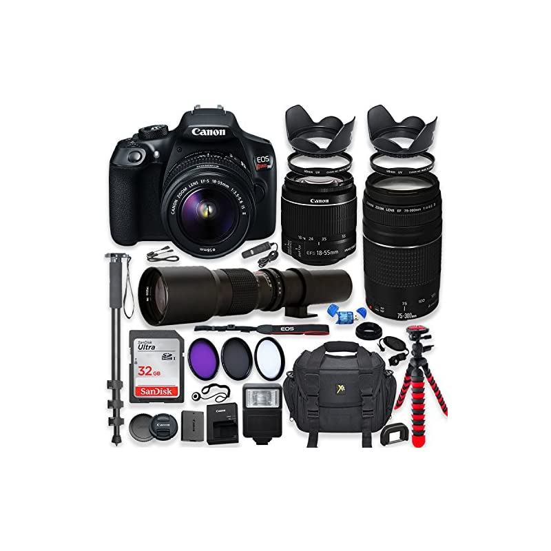 Canon EOS Rebel T6 DSLR Camera with 18-5