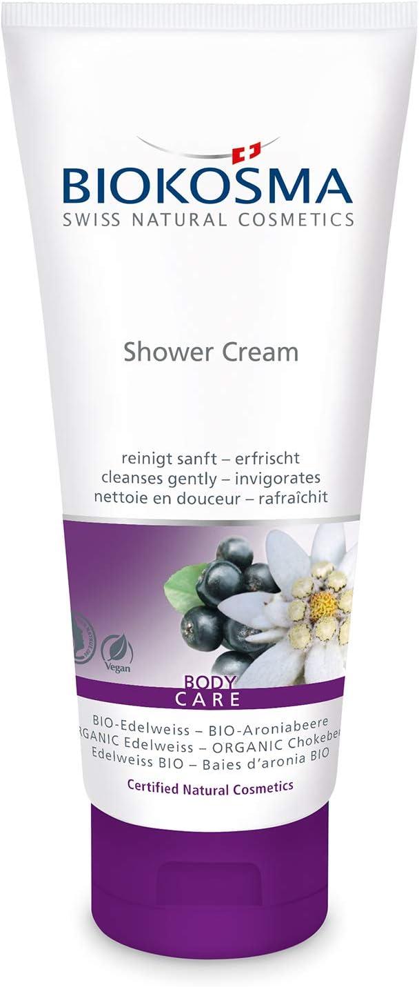 Iokosma - Crema de ducha biodegradable y arónica (200 ml): Amazon ...