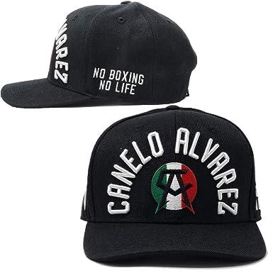 3a70225de7599 Authentic Canelo Alvarez Rounders Snapback Hat Baseball Cap (Black ...
