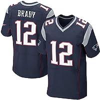 Camiseta Jersey Futbol 12# Brady New England Patriots Majestic NFL Player T-Shirt