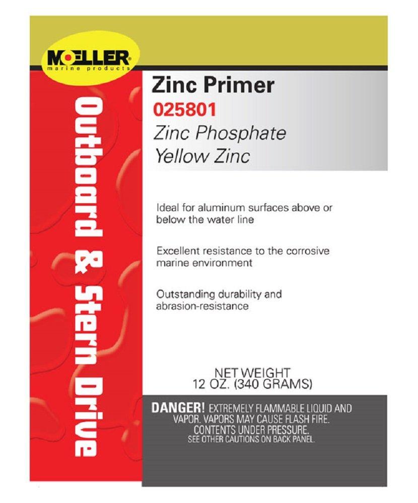 Moeller 025801 Yellow Zinc Phosphate Primer 258010