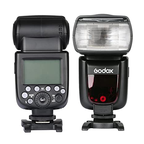 Godox Thinklite TT685 TTL Flash for Nikon Cameras (Black) Shoe Mount Flashes at amazon