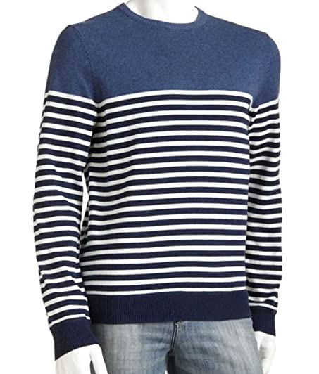 Sonoma Mens Crew Neck Pullover Sweater Big Tall XLT and 2XLT Navy ...