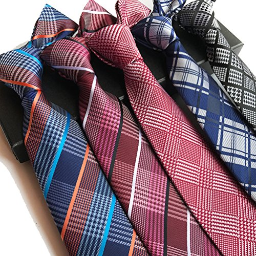 Stripe Men's Classic LOLONG Blue Tie UEHxAB4pwq