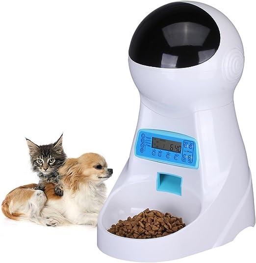 UMEI 3litre Comederos automáticos de Mascotas Para Perros y Gatos ...