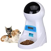 UMEI 3litre Alimentatore Automatico Per Cani e Gatti Timing Quantitativo Distributori Automatici di Cibo