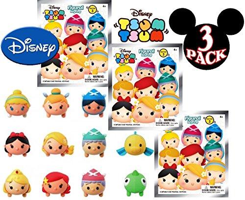 "Monogram Disney ""Tsum Tsum"" Series 3 3D Foam Figures Coll..."
