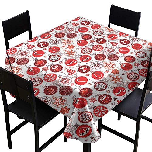 YSING Rectangular Square Tablecloth,50