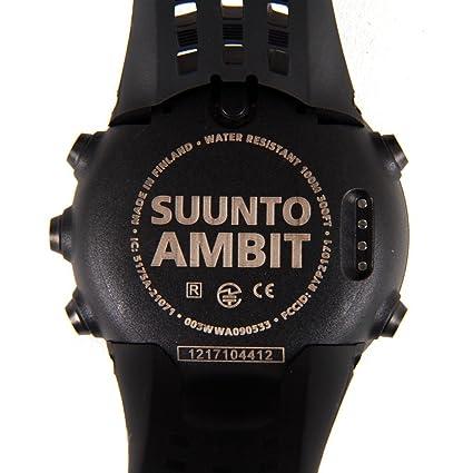 SUUNTO Ambit - Reloj GPS negro negro Talla:0: Amazon.es: Deportes y ...