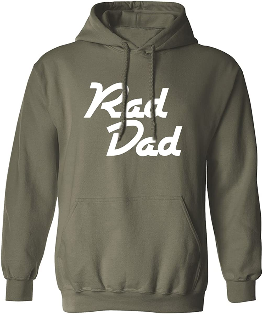 RAD DAD Adult Hooded Sweatshirt
