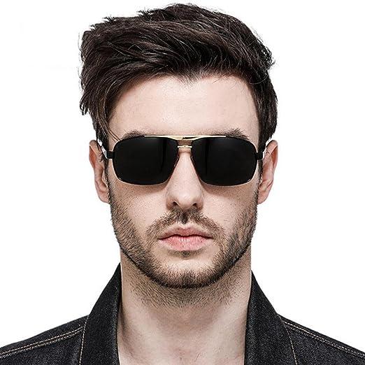 Aoligei Double-couleur masculine de galvanoplastie polarisant lunettes de soleil conduite lunettes miroir conducteur lunettes de soleil 211xy
