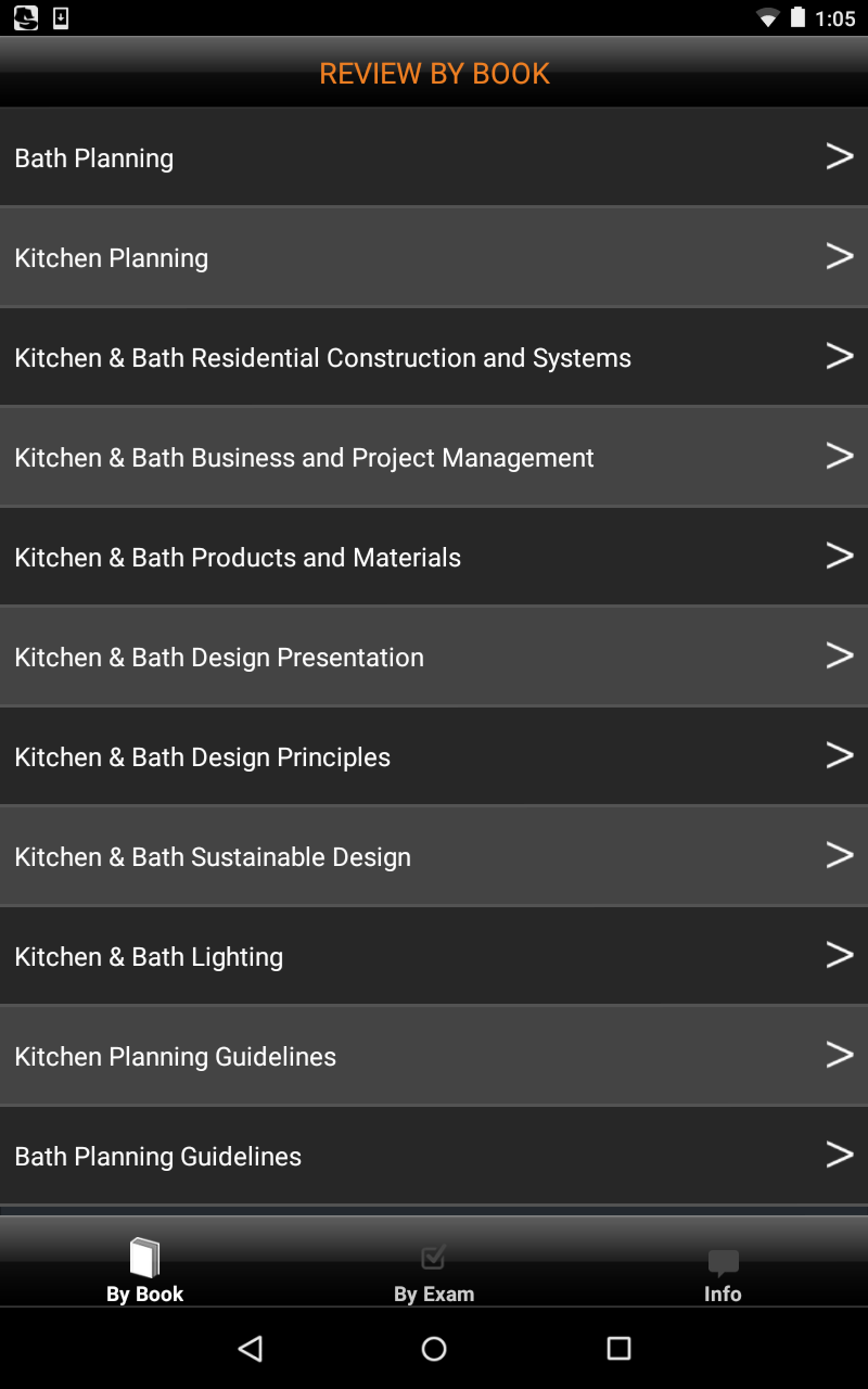 National kitchen and bath association guidelines - 0 00