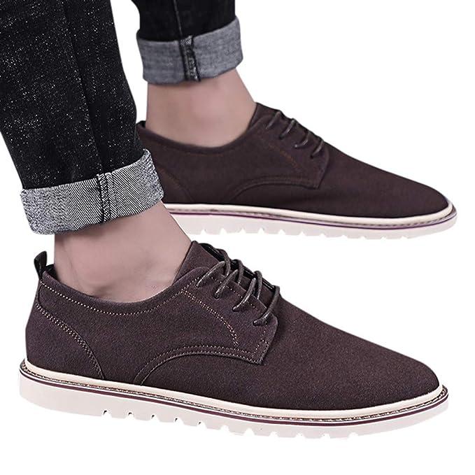: Vintage Shoes for Men POHOK Fashion Men's