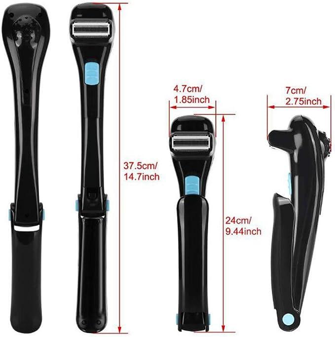 Máquina de afeitar eléctrica para espalda, afeitadora profesional ...