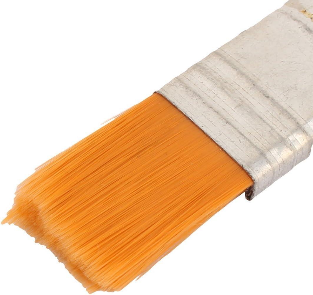 Sourcingmap Pennello per pittura a olio con manico in finta pelliccia 1,5 cm