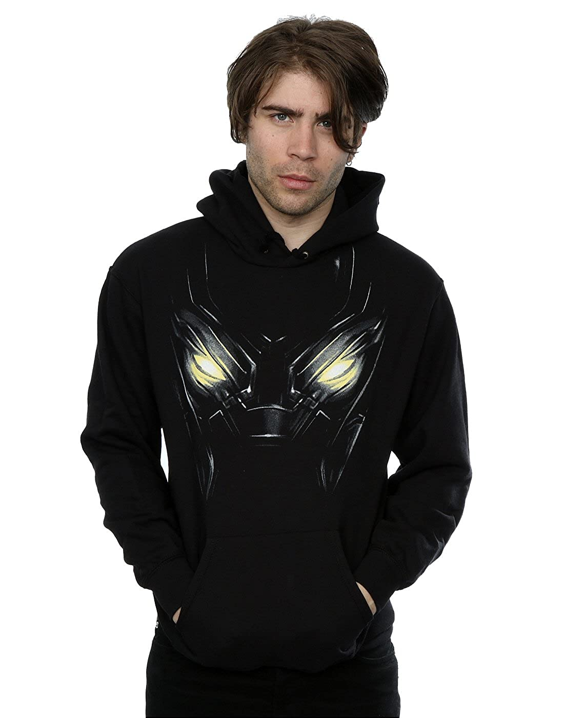 68516ea35b5 Amazon.com  Marvel Men s Black Panther Eyes Hoodie  Clothing