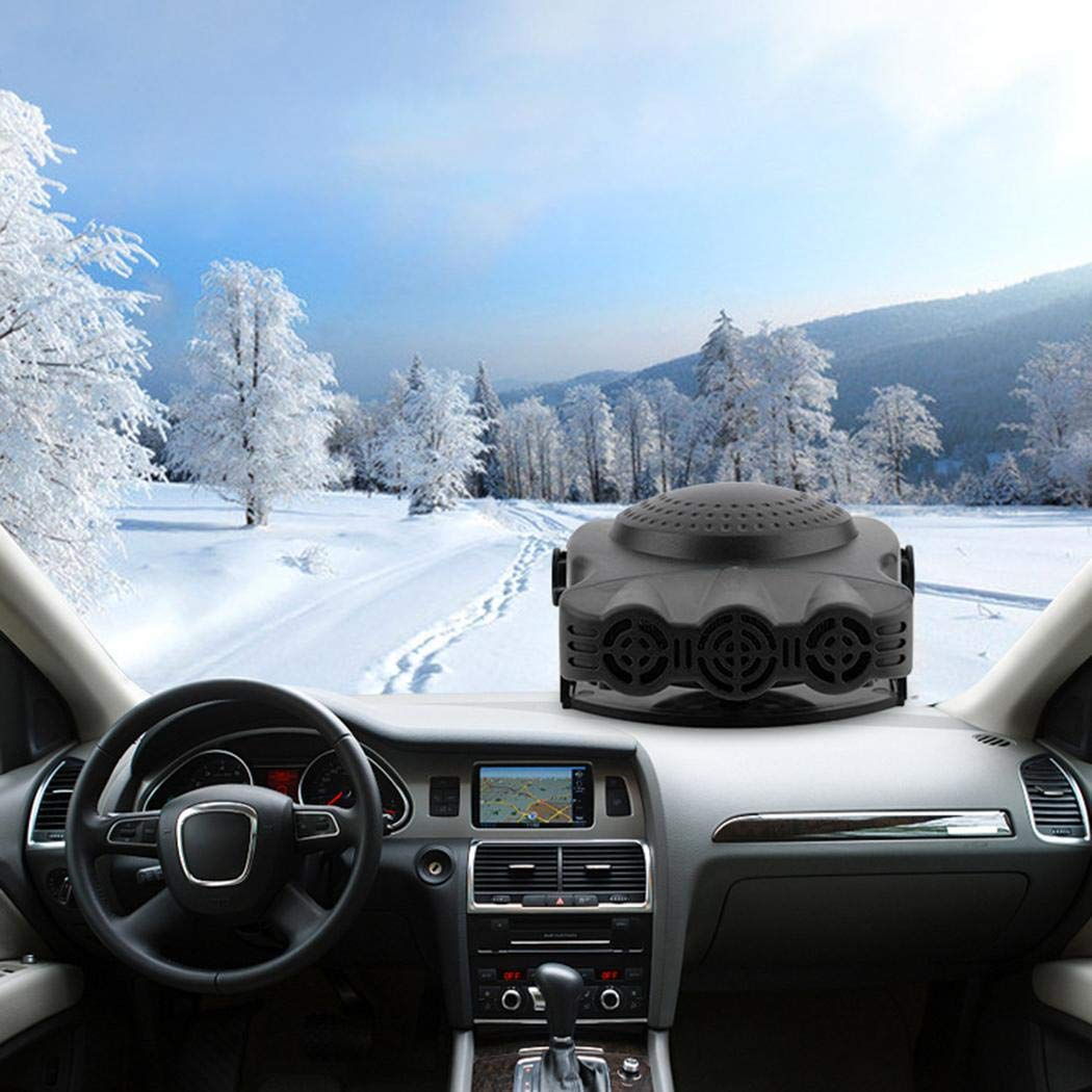 Youandmes 12V Car Air Heater,Winter Electric Window Defroster Heating and Cooling Machine for Car