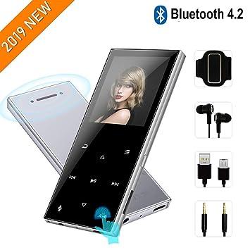 Amazon.com: FenQan Reproductor de MP3, Bluetooth 4.1 ...