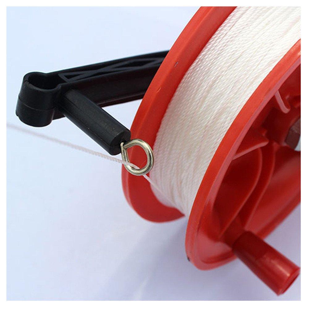 EQLEF Manuel Kite Reel Plastic Kite Reel pour Un cerf-Volant