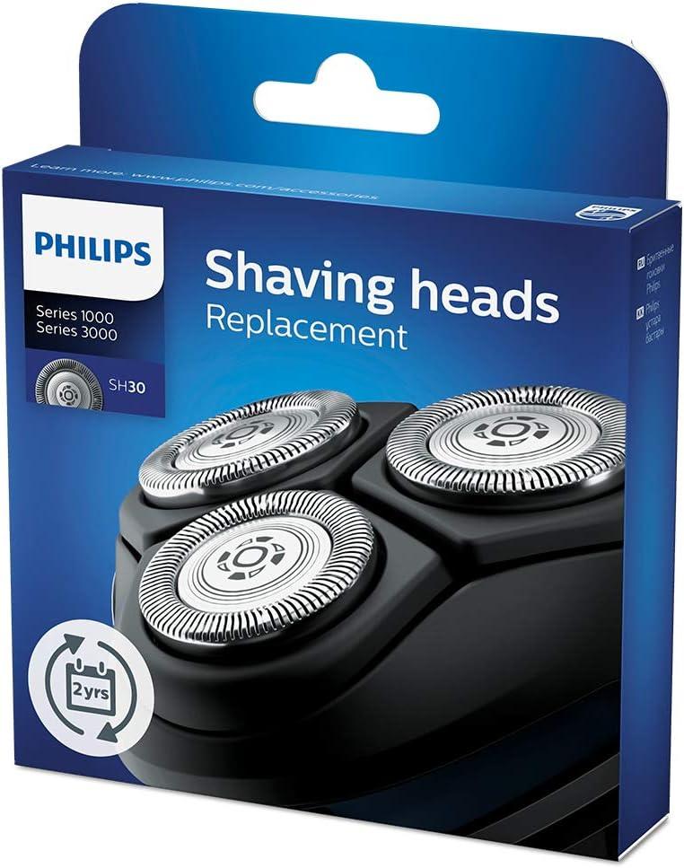 Philips SH30/50 - Cabezales de afeitado para afeitadoras de la Serie 3000: Amazon.es: Salud y cuidado personal