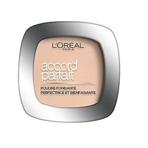 L'Oréal Paris Make Up Designer - Accord Parfait Poudre Fondante et Matifiante 4.N Beige