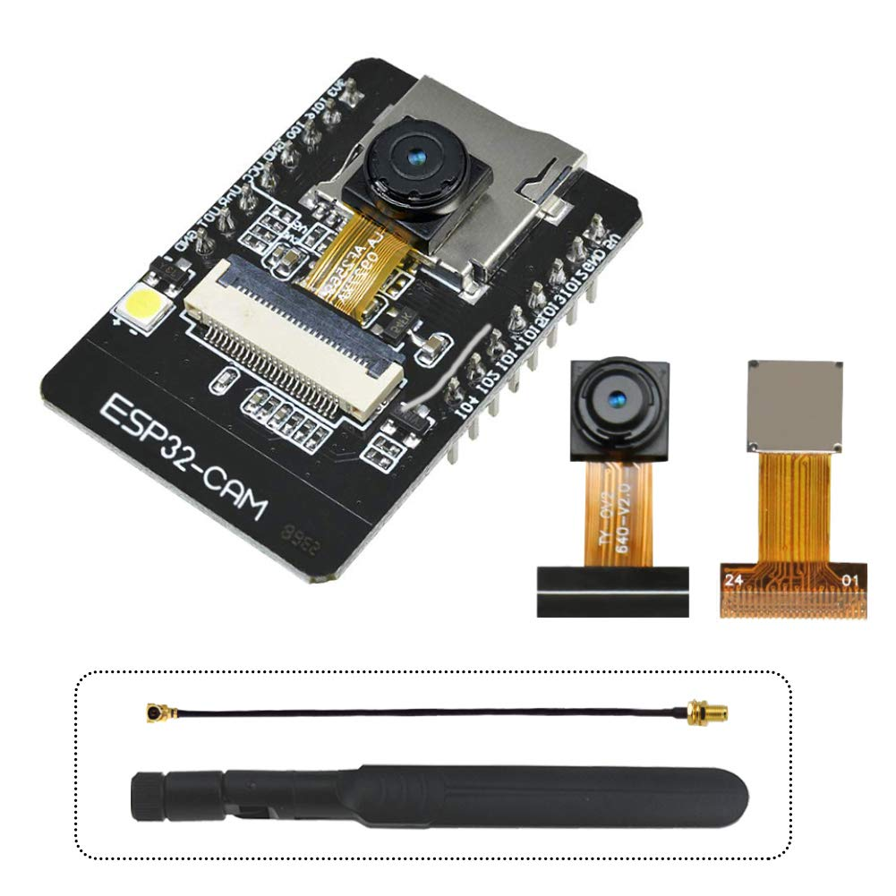 Camara Esp32-cam Wifi + Modulo Bluetooth Tarjeta De Desarrollo De Cpu 4m Psram Dual-core De 32 Bits Con Modulo De Camara
