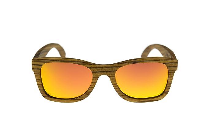 Wood Trend Gafas de sol de madera Milano: Amazon.es: Deportes y aire libre