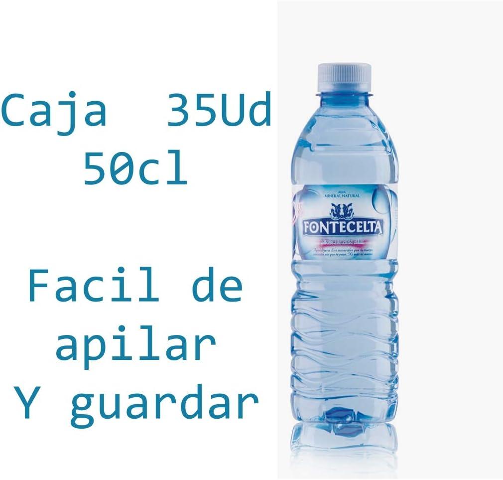 Caja de 35 Botellas de 50cl de Fontecelta Agua sin Gas Natural de ...