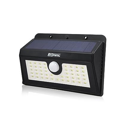 1 pack 45 Luz de Solar LED Luces Solares Led Exterior Sensor de Movimiento Instalación Fácil