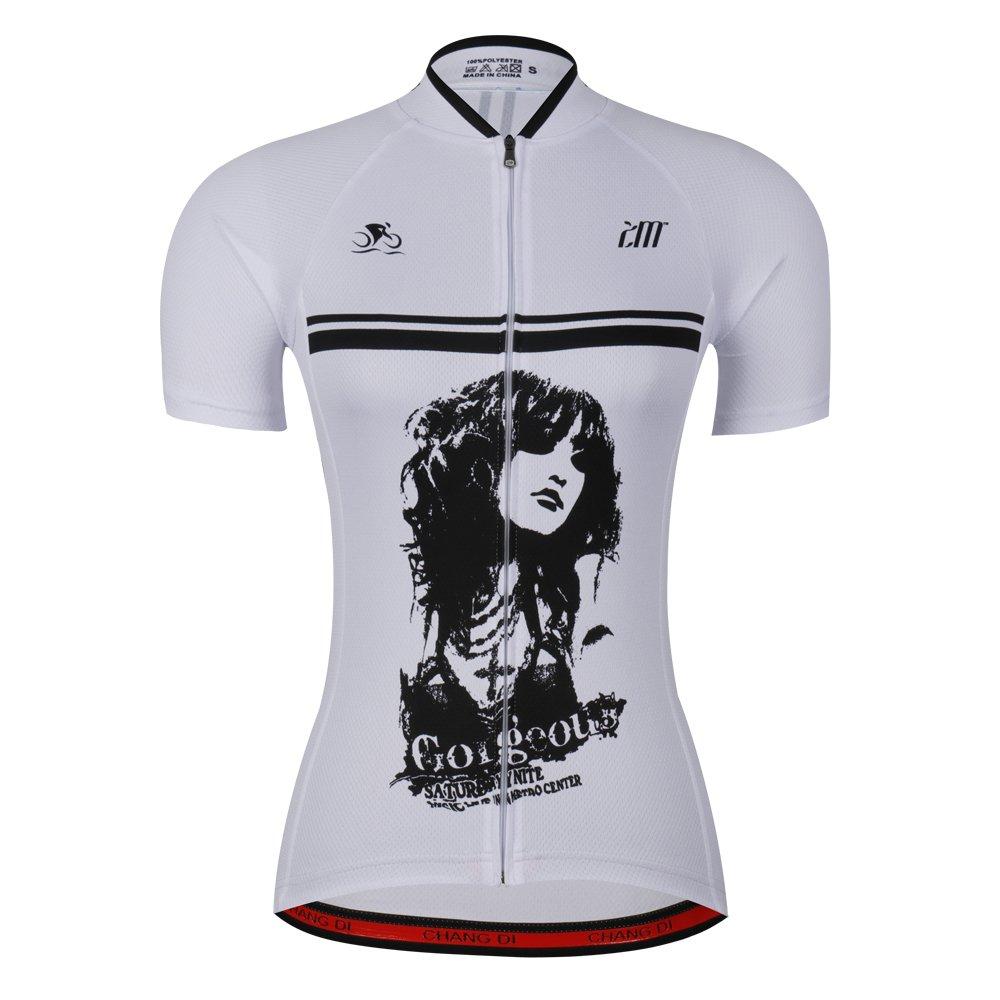 Women's Cycling Jersey Beautiful Bike Bicycle Clothing Shirt Jacket Summer (Asia-M, 5) by ZM