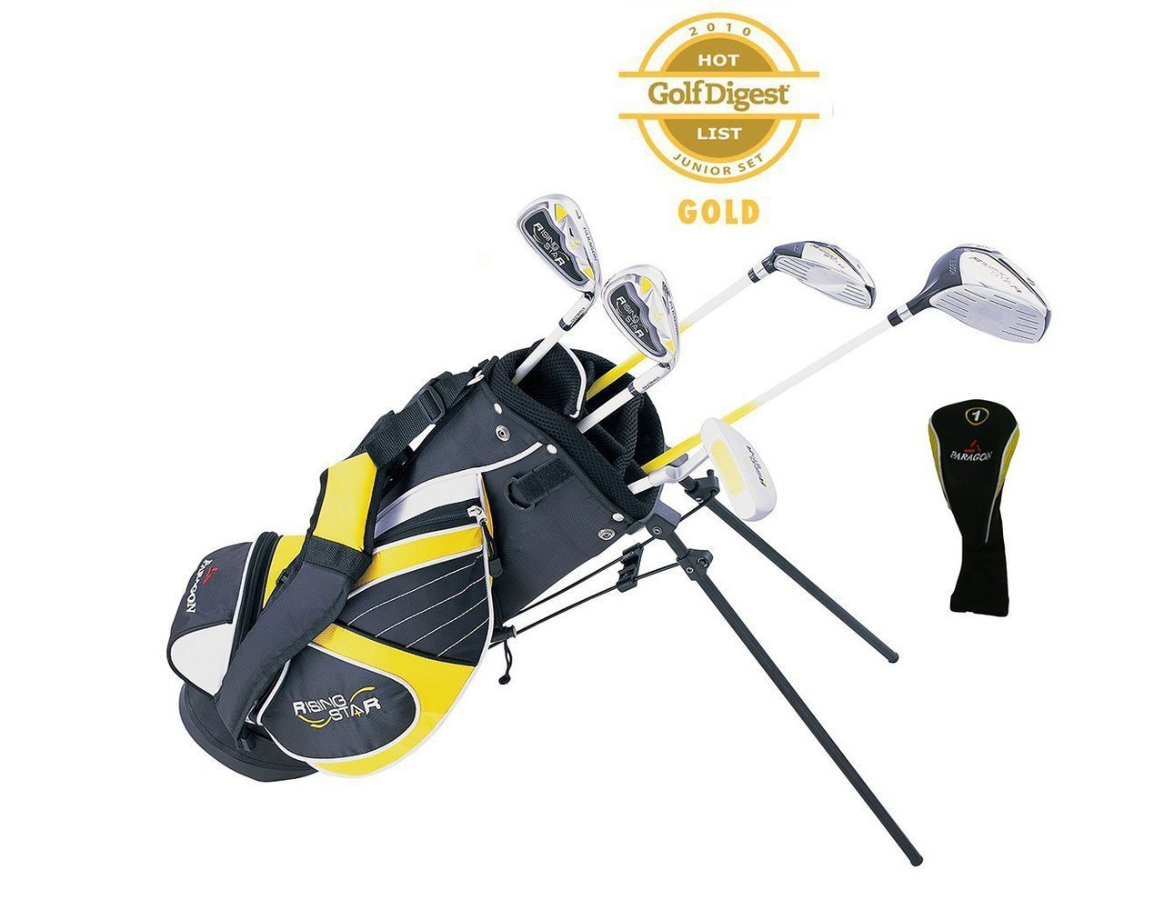 Paragon Golf Youth Golf Club Set, Yellow, Ages 5-7 - Right Handed