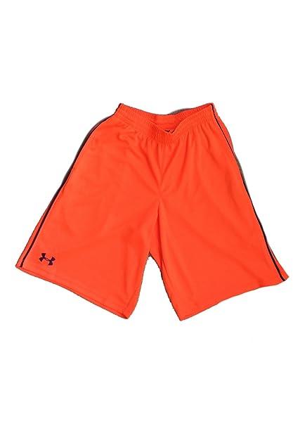 1625712b7d Under Armour Mens Flex Pipe Mesh Training Shorts 1248179-826 orange ...