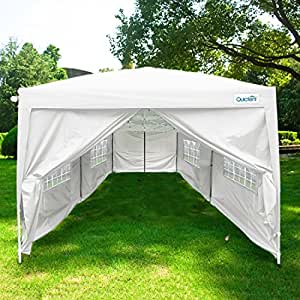 quictent silvox waterproof 20x10 39 ez pop up canopy gazebo party tent portable style. Black Bedroom Furniture Sets. Home Design Ideas
