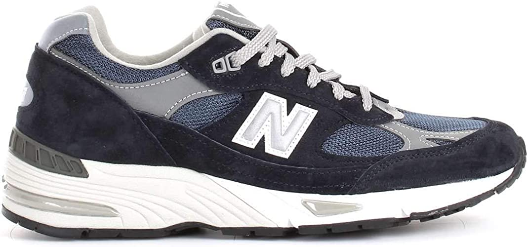 Luxury Fashion | New Balance Hombre NBM991NV Azul Zapatillas | Temporada Outlet: Amazon.es: Zapatos y complementos