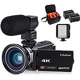 ビデオカメラ デジタルカメラ カムコーダー Wi-Fi 赤外線ナイトビジョン 夜間撮影