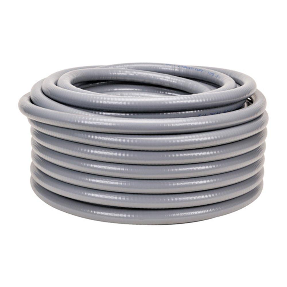 HydroMaxx 1.25'X 50' NON METALLIC FLEXIBLE PVC LIQUID TIGHT ELECTRICAL CONDUIT TekTube USA 4105114050