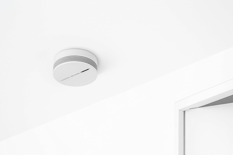 wei/ß Netatmo NA-NSA-EC Rauchmelder intelligente