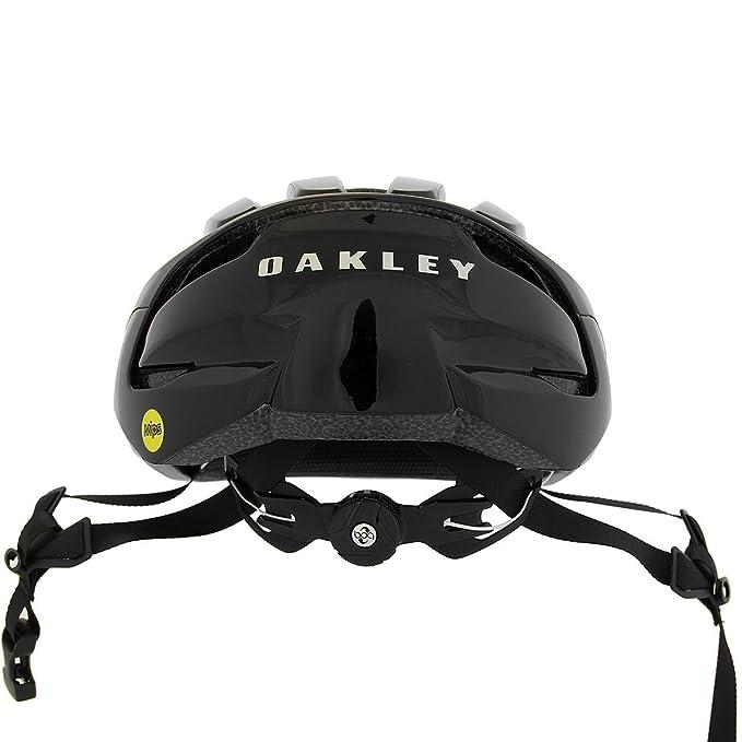 Oakley ARO3 - Casco de Bicicleta - Negro Contorno de la Cabeza L 2018: Amazon.es: Deportes y aire libre