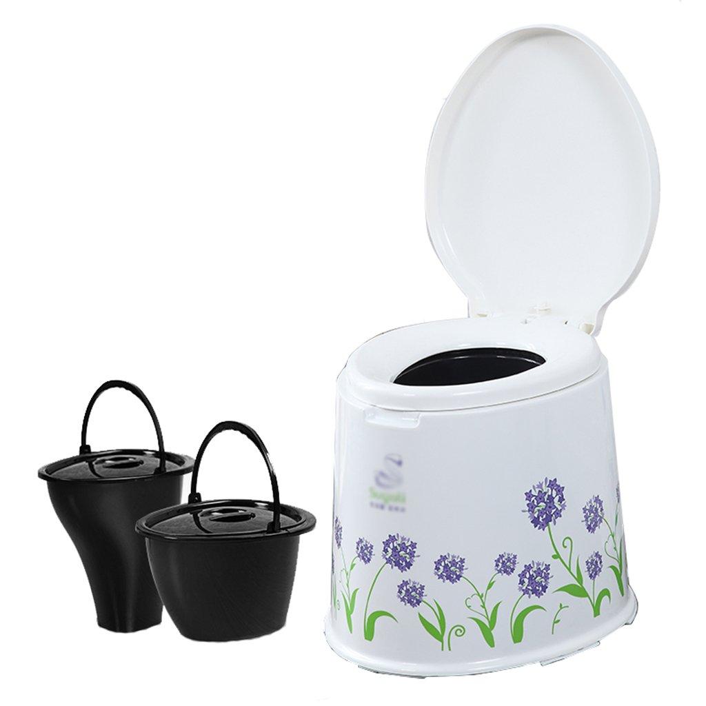 トイレチェアポータブルノンスリップトイレトイレ旅行キャンプハイキングピクニックアウトドア (色 : パープル ぱ゜ぷる) B07CXM27L9 パープル ぱ゜ぷる パープル ぱ゜ぷる
