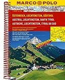 Austria/Liechtenstein/South Tyrol Marco Polo Road Atlas