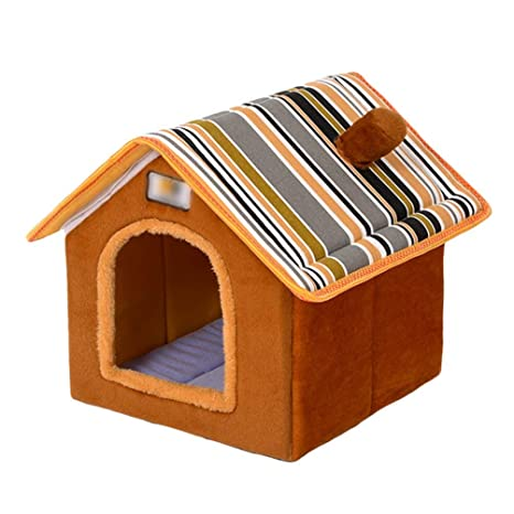 biggroup - Caseta de Felpa cálida para Mascotas, Perros ...