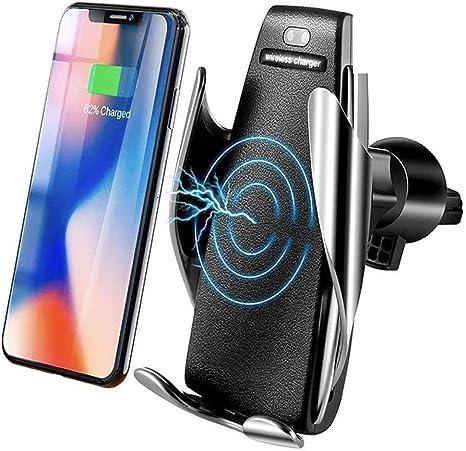 MMOBIEL Soporte Cargador inalámbrico teléfono para el Coche Sensor ...
