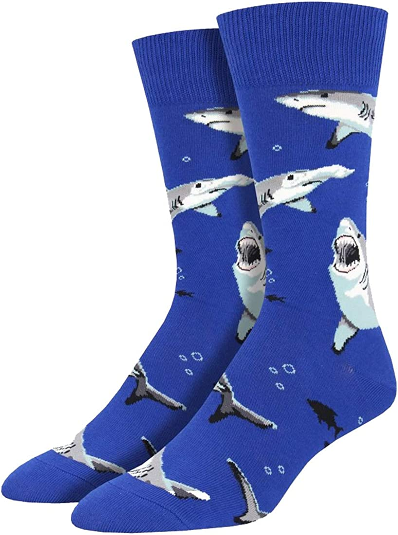 Socksmith Men's Shark Chums